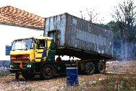 Container (nachher: in Guinea-Bissau)